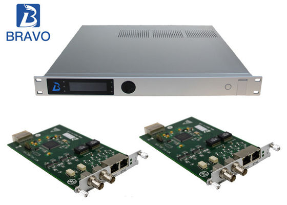 Multichannel H264 / H265 SD HD Encoder, SD Offline HD Channel Modulator