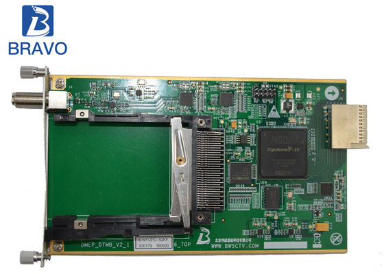 Cina Digital Headend 2 Channel Sub Board, DTMB Demodulating Dan Descrambling Sub Card pabrik