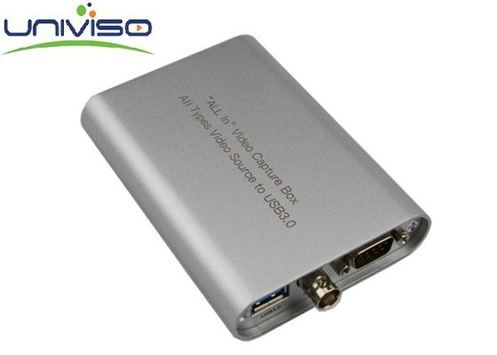 Semua Antarmuka Ke USB Video Capture Box Converter Mobile Dan Portable A / V Capture